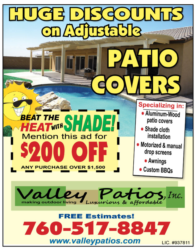 Valley Patios - Tidbits ad